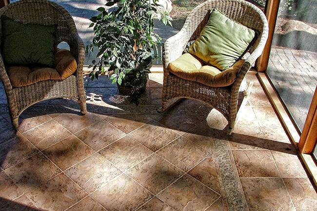 Tile flooring contractor