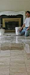 porcelain commercial floor tile install madison wi and surrounding area